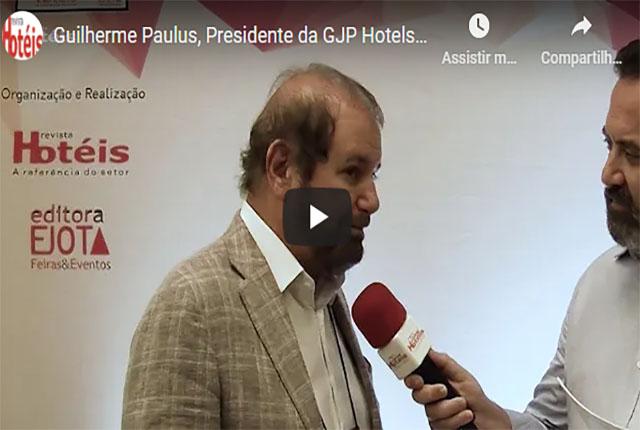 Entrevista com Guilherme Paulus na entrega do Troféu 2019